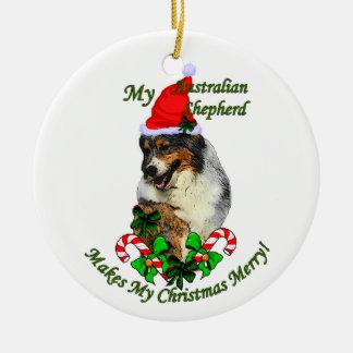 Ornamento australiano dos presentes do Natal do