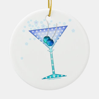 Ornamento azul de Martini
