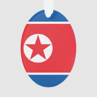 Ornamento Bandeira da Coreia do Norte