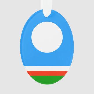 Ornamento Bandeira da república de Sakha