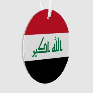 Ornamento Bandeira de Iraque