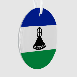 Ornamento Bandeira de Lesotho