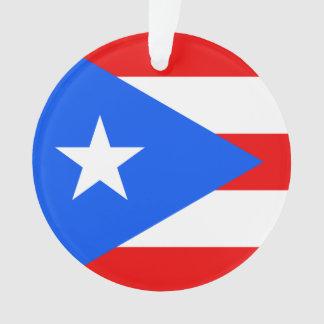 Ornamento Bandeira de Puerto Rico