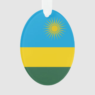 Ornamento Bandeira de Rwanda