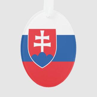 Ornamento Bandeira de Slovakia