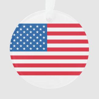 Ornamento Bandeira dos Estados Unidos da bandeira dos EUA