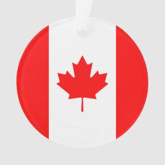 Ornamento Bandeira nacional patriótica de CANADÁ
