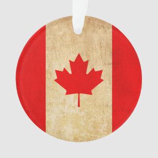 Ornamento Bandeira nacional patriótica do vintage original