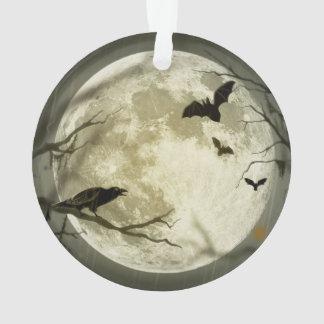 Ornamento Bastões pela lua no Dia das Bruxas
