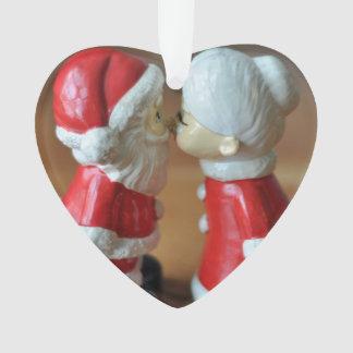 Ornamento Beijando cláusulas com texto totalmente