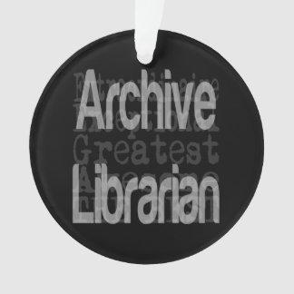 Ornamento Bibliotecário do arquivo Extraordinaire
