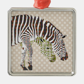 Ornamento boémio das zebras