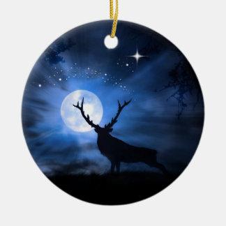 Ornamento bonito da decoração do Natal dos alces
