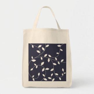 ornamento bonito da folha bolsa tote