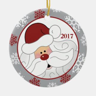 Ornamento bonito do feriado de Papai Noel -