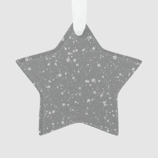 Ornamento Brilho Stars4 - Prata