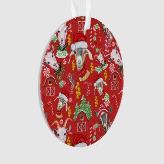 Ornamento CABRAS doces do Natal e tinir Bels GetYerGoat™