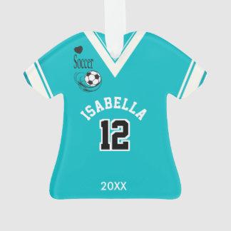 Ornamento Camisa do futebol da cerceta