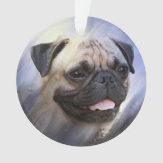 Ornamento Cara do Pug