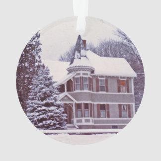 Ornamento Casa velha do Victorian - Home para os feriados