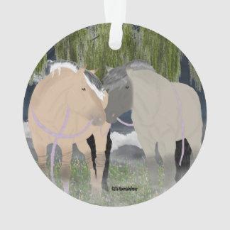 Ornamento Cavalos noruegueses do fiorde