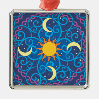 Ornamento celestial da mandala