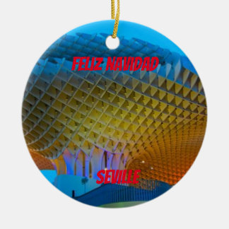Ornamento cénico da espanha de Sevilha