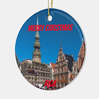 Ornamento cénico de Riga Latvia