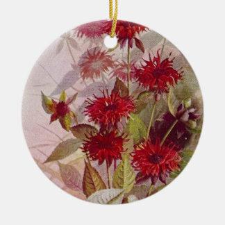 Ornamento cerâmico botânico | do Wildflower dois
