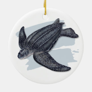 Ornamento cerâmico da tartaruga de mar do