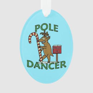 Ornamento Chalaça engraçada da rena do Natal do dançarino