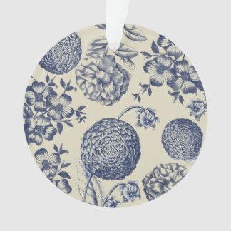 Ornamento Chique botânico do impressão dos trabalhos de arte