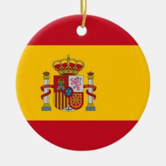 Ornamento com a bandeira da espanha