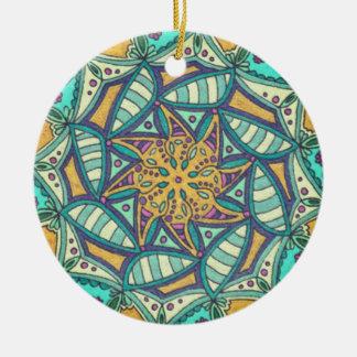 Ornamento com mandala de Colorart