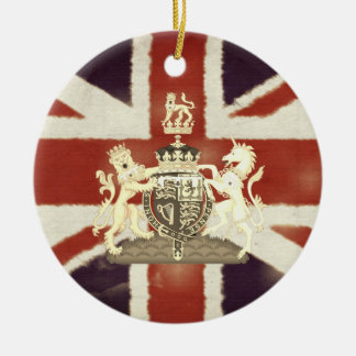 Ornamento comemorativo do casamento real britânico