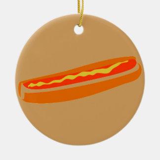 Ornamento cómico do Hotdog