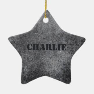 Ornamento conhecido feito sob encomenda da estrela