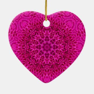 Ornamento cor-de-rosa do teste padrão do vintage
