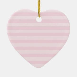 Ornamento cor-de-rosa do teste padrão listrado