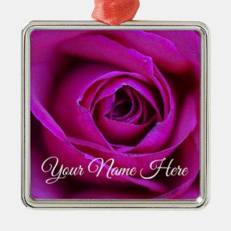 Ornamento cor-de-rosa personalizado