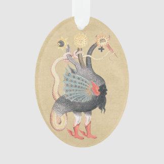 Ornamento Cor do pitão da alquimia