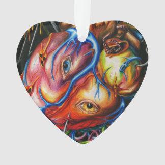 Ornamento Coração Rotting
