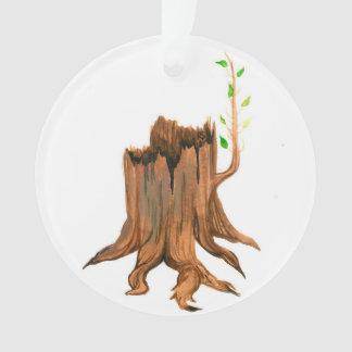 Ornamento Coto de árvore de Jesse do advento