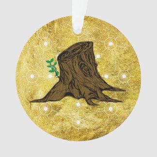 Ornamento Coto Sprouting da árvore de Jesse