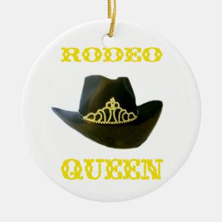 Ornamento customizável da rainha do rodeio