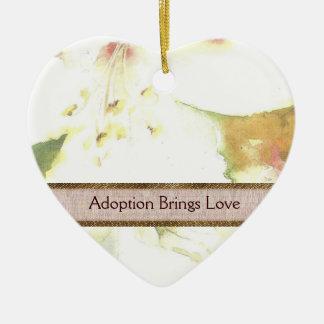 Ornamento da adopção do lírio