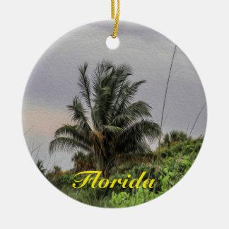 Ornamento da árvore de Florida da palmeira