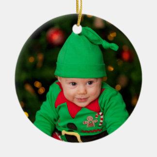 Ornamento da árvore de Natal - bebê