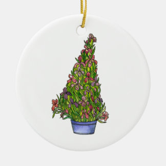 Ornamento da árvore de Natal da íris
