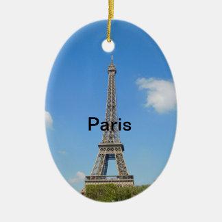 Ornamento da árvore de Natal de Paris